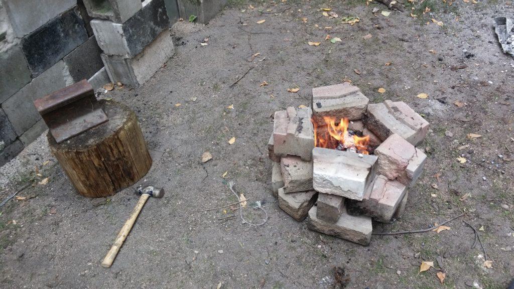 Backyard Forge backyard forge, a fun diy project | true north wilds