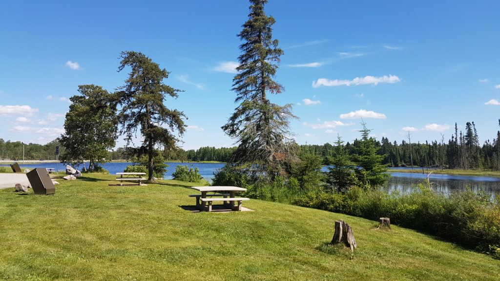 Canadian Shield rest stop